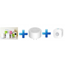 D-Link Bundle Home Security Starter Kit+Home Siren+Wi-Fi Motion Sensor