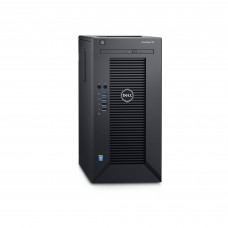 Dell PowerEdge T30 E3-1225 v5/32GB/4x1TB SATA/RAID 5/DVDRW/3xGLAN/290W/3RNBD/Černý